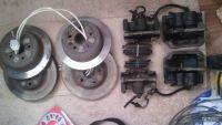 Подробнее: Замена задних барабанных тормозов Toyota Caldina