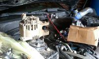 Подробнее: Замена генератора Hyundai Sonata G6BA V6 2.7L