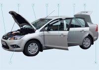 Подробнее: Элементы кузова Форд Фокус 2 рестайлинг